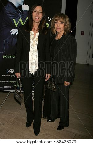 LOS ANGELES - DECEMBER 10: Cecilia Peck and Veronique Peck at the premiere of