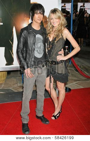 WESTWOOD, CA - DECEMBER 07: Chad Rogers and Victoria Salsbury at the premiere of
