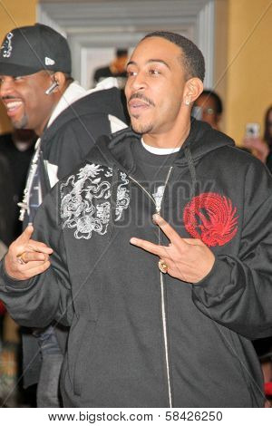 WESTWOOD, CA - DECEMBER 07: Ludacris at the premiere of