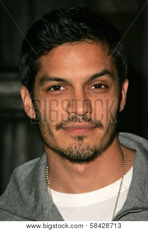 HOLLYWOOD - DECEMBER 07: Nicholas Gonzalez at Howard Fine's Ball of Fire December 07, 2006 in Boardners, Hollywood, CA.