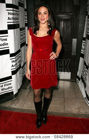HOLLYWOOD - DECEMBER 07: Camille Guaty at Howard Fine's Ball of Fire December 07, 2006 in Boardners, Hollywood, CA.