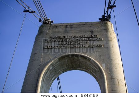 Arc Of The Bridge In Europe