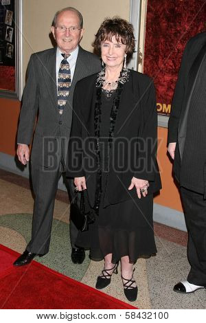 Margaret O'Brien and husband Roy at the tribute show