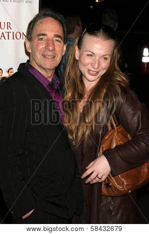 Harry Shearer and Judith Owen at the Los Angeles Premiere of