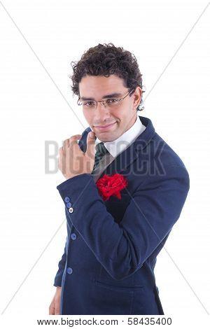 Gentleman And Seducer In Suit