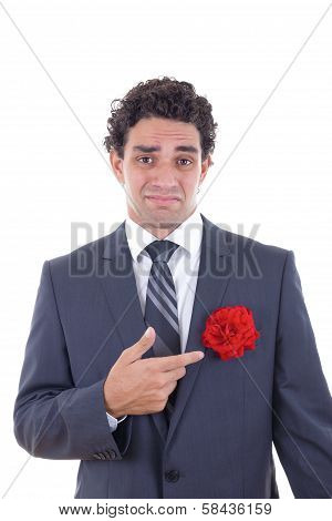 Man Does Not Love Flowers