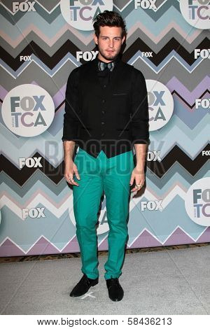 Nico Tortorella at the FOX Winter TCA All-Star Party 2013, Langham Huntington Hotel, Pasadena, CA 01-08-13