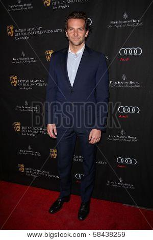 Bradley Cooper at the BAFTA Los Angeles 2013 Awards Season Tea Party, Four Seasons Hotel, Los Angeles, CA 01-12-13