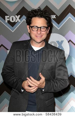J.J. Abrams at the FOX Winter TCA All-Star Party 2013, Langham Huntington Hotel, Pasadena, CA 01-08-13