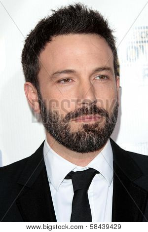 Ben Affleck at the 18th Annual Critics' Choice Movie Awards Arrivals, Barker Hangar, Santa Monica, CA 01-10-13