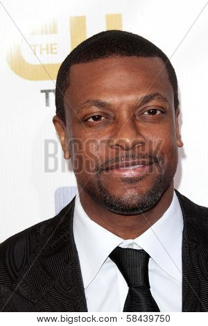 Chris Tucker at the 18th Annual Critics' Choice Movie Awards Arrivals, Barker Hangar, Santa Monica, CA 01-10-13