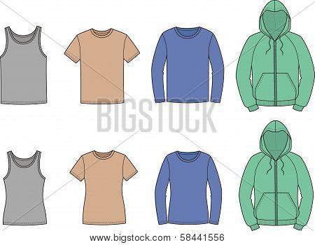 Singlet, t-shirt, jumper, smock