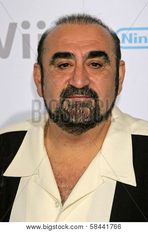 Ken Davitian at the party celebrating the launch of Nintendo's Game Console Wii. Boulevard 3, Los Angeles, California. November 16, 2006.