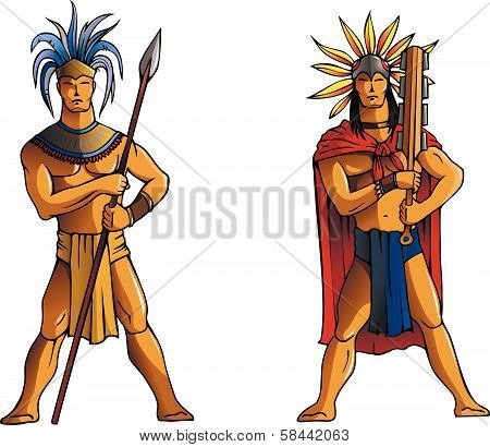 Mayan warriors