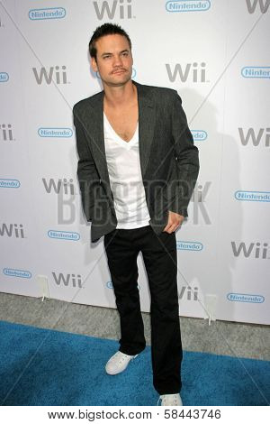 Shane West at the party celebrating the launch of Nintendo's Game Console Wii. Boulevard 3, Los Angeles, California. November 16, 2006.