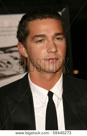 Shia LaBeouf at the AFI Fest 2006 Opening Night Premiere of