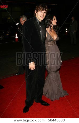 Ashton Kutcher and Demi Moore at the AFI Fest 2006 Opening Night Premiere of