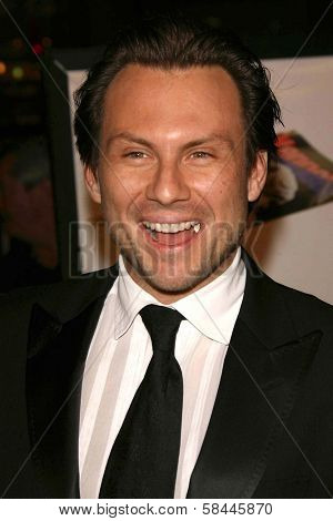Christian Slater at the AFI Fest 2006 Opening Night Premiere of