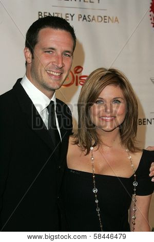 Brady Smith and Tiffani Thiessen at the Make-A-Wish Wish Night 2006 Awards Gala, Beverly Hills Hotel, Beverly Hills, California. November 17, 2006.