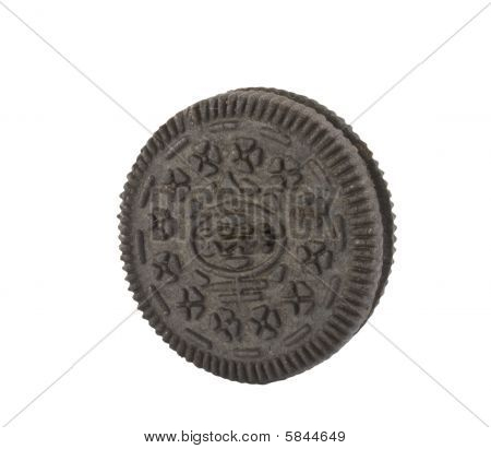 Isolated Single Cookie