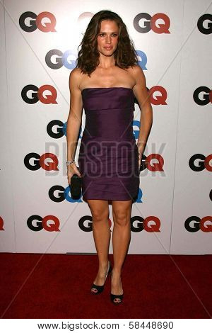 LOS ANGELES - NOVEMBER 29: Jennifer Garner at the GQ Man of the Year Awards at Sunset Tower Hotel November 29, 2006 in Los Angeles, CA.