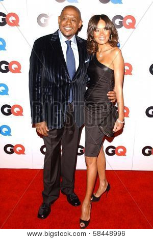 LOS ANGELES - NOVEMBER 29: Forest Whitaker and Keisha Whitaker at the GQ Man of the Year Awards at Sunset Tower Hotel November 29, 2006 in Los Angeles, CA.