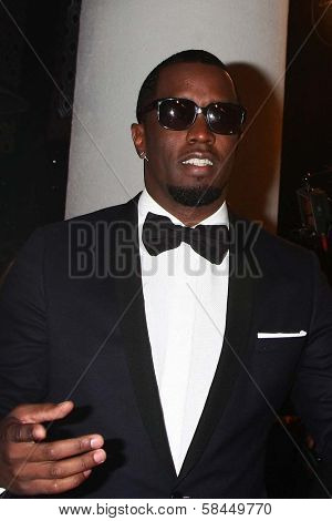 Sean Combs at HBO's Official Golden Globe Award After Party, Beverly Hilton Hotel, Beverly Hills, CA 01-13-13