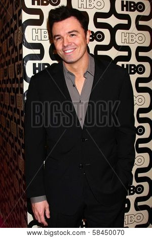 Seth MacFarlane at HBO's Official Golden Globe Award After Party, Beverly Hilton Hotel, Beverly Hills, CA 01-13-13