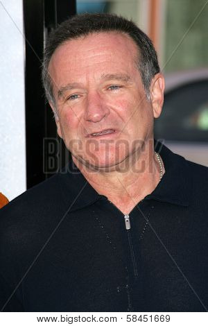 LOS ANGELES - NOVEMBER 12: Robin Williams at the world premiere of