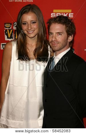 Seth Green and guest at Spike TV's 2006 Video Game Awards. The Galen Center, Los Angeles, California. December 8, 2006.