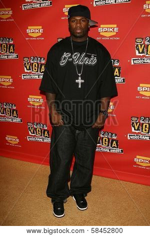 50 Cent at Spike TV's 2006 Video Game Awards. The Galen Center, Los Angeles, California. December 8, 2006.