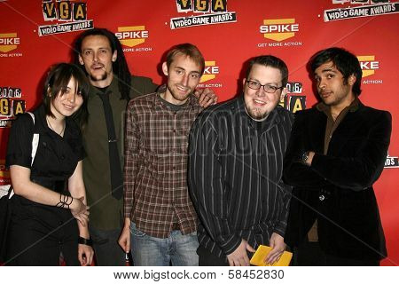 Mega 64 at Spike TV's 2006 Video Game Awards. The Galen Center, Los Angeles, California. December 8, 2006.