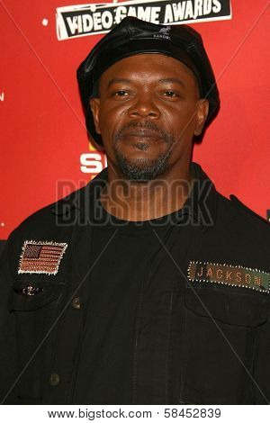 Samuel L. Jackson at Spike TV's 2006 Video Game Awards. The Galen Center, Los Angeles, California. December 8, 2006.