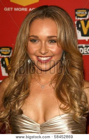 Hayden Panettiere at Spike TV's 2006 Video Game Awards. The Galen Center, Los Angeles, California. December 8, 2006.