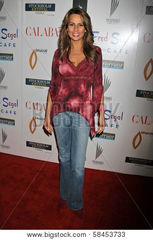 BEVERLY HILLS - DECEMBER 06: Patricia Kara at the Calabasas 2 Year Anniversary Party on December 6, 2006 at Fred Segal Mauro's Cafe in Beverly Hills, CA.