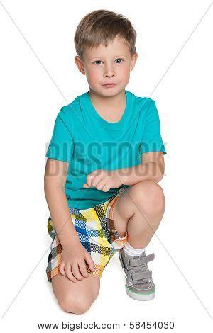 Sad Little Boy
