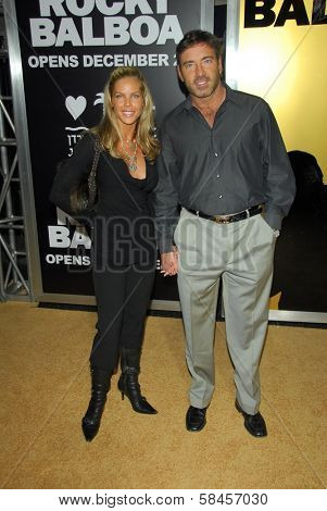 HOLLYWOOD - DECEMBER 13: Garth Fisher and guest at the world premiere of