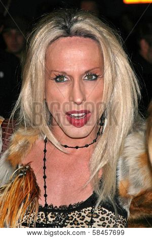 LOS ANGELES - DECEMBER 08: Alexis Arquette at Flaunt's 8th Annual Anniversary and Toy Drive benefitting on December 08, 2006 at The Edison in Los Angeles, CA.