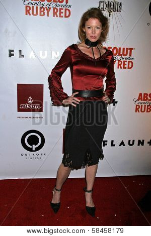 LOS ANGELES - DECEMBER 08: Cynthia Basinet at Flaunt's 8th Annual Anniversary and Toy Drive benefitting on December 08, 2006 at The Edison in Los Angeles, CA.