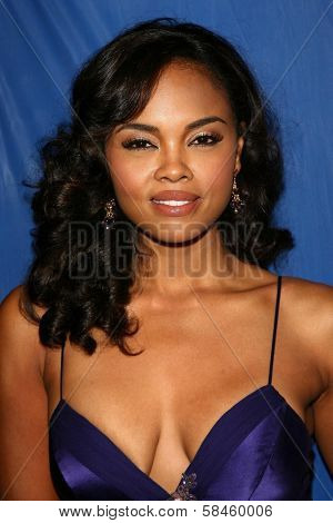 Sharon Leal at the premiere of