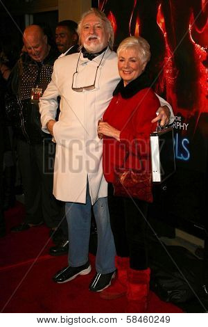 Marty Ingels and Shirley Jones at the premiere of
