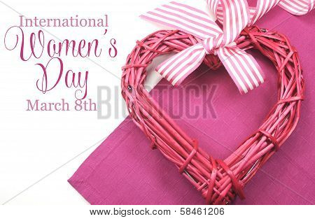 Happy International Women's Day, March 8