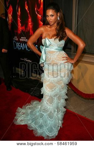Beyonce Knowles at the premiere of