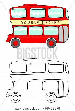Cartoon Double Decker