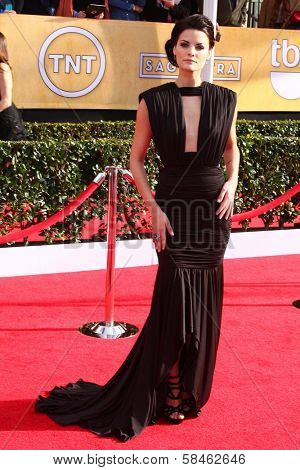 Jaime Alexander at the 19th Annual Screen Actors Guild Awards Arrivals, Shrine Auditorium, Los Angeles, CA 01-27-13
