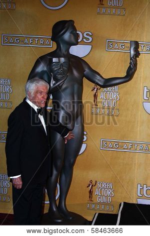 Dick Van Dyke at the 19th Annual Screen Actors Guild Awards Press Room, Shrine Auditorium, Los Angeles, CA 01-27-13