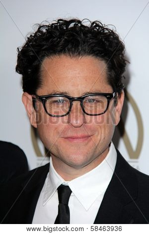 J.J. Abrams at the 24th Annual Producers Guild Awards, Beverly Hilton, Beverly Hills, CA 01-26-13