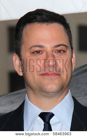 Jimmy Kimmel at Jimmy Kimmel's induction into the Hollywood Walk of Fame, Hollywood, CA 01-25-13
