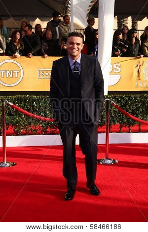 Mark Salling at the 19th Annual Screen Actors Guild Awards Arrivals, Shrine Auditorium, Los Angeles, CA 01-27-13