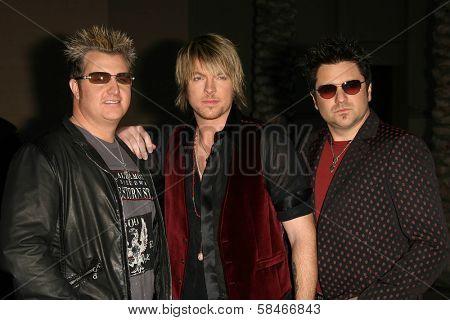 LOS ANGELES - NOVEMBER 21: Rascal Flatts at the 34th Annual American Music Awards at Shrine Auditorium November 21, 2006 in Los Angeles, CA